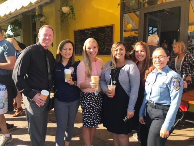 Thank you to everyone who joined us for Coffee with A Cop